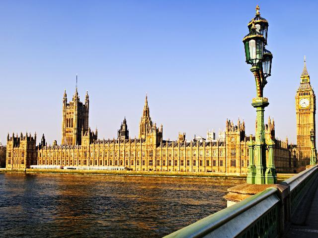 Engeland - Londen - Houses of Parliament en Big Ben
