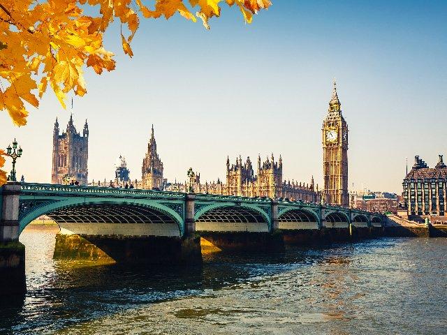Groot-Brittannië - Londen - Big Ben, Parlementsgebouw