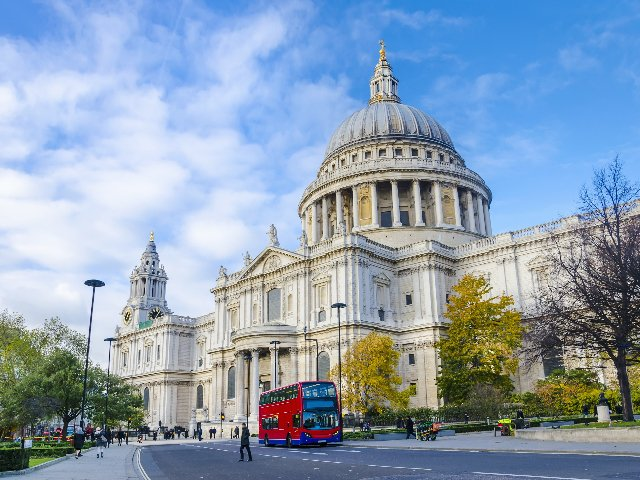 Groot-Brittannië - Londen - St. Pauls Cathedral