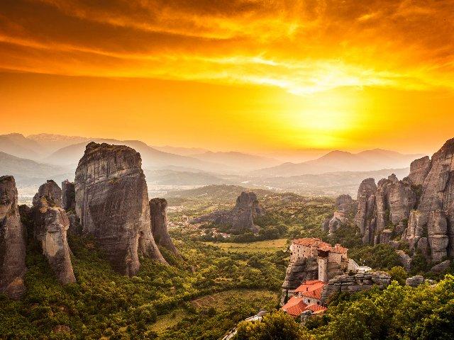 Griekenland - Meteora Kloosters