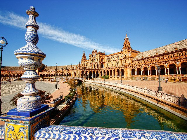 Spanje - Sevilla - Plaza de Espagne