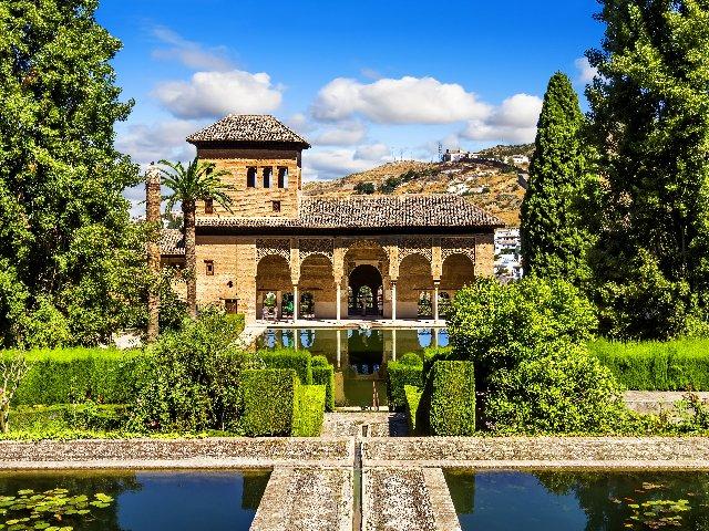 Spanje - Alhambra in Grenada