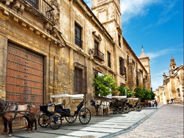 Spanje - Straat in Córdoba