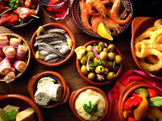 Spanje - Traditionele tapas