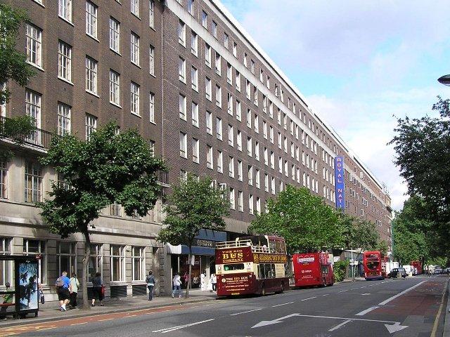 Londen - Hotel Royal National *** - aanzicht