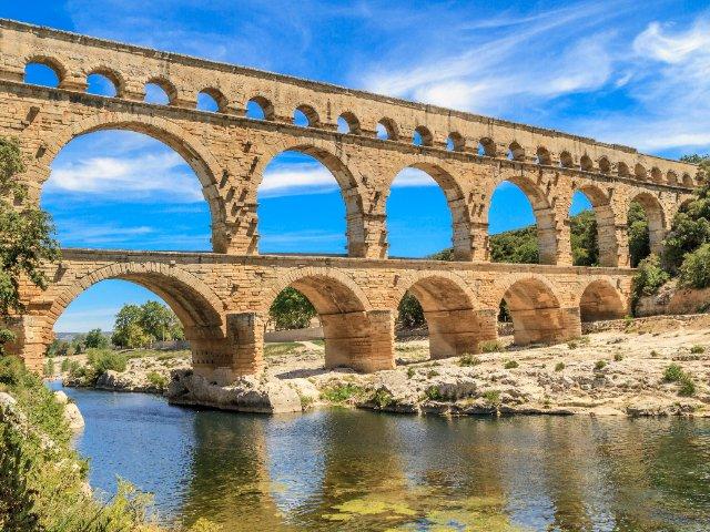 Uzès - Pont du Gard