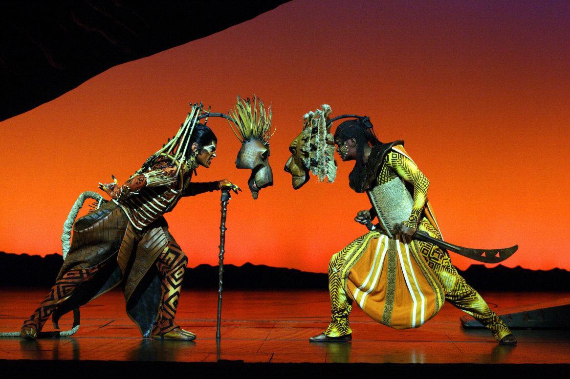 lion king musical arrangement incl  busreis  u0026 ticket  u2013 oad nl