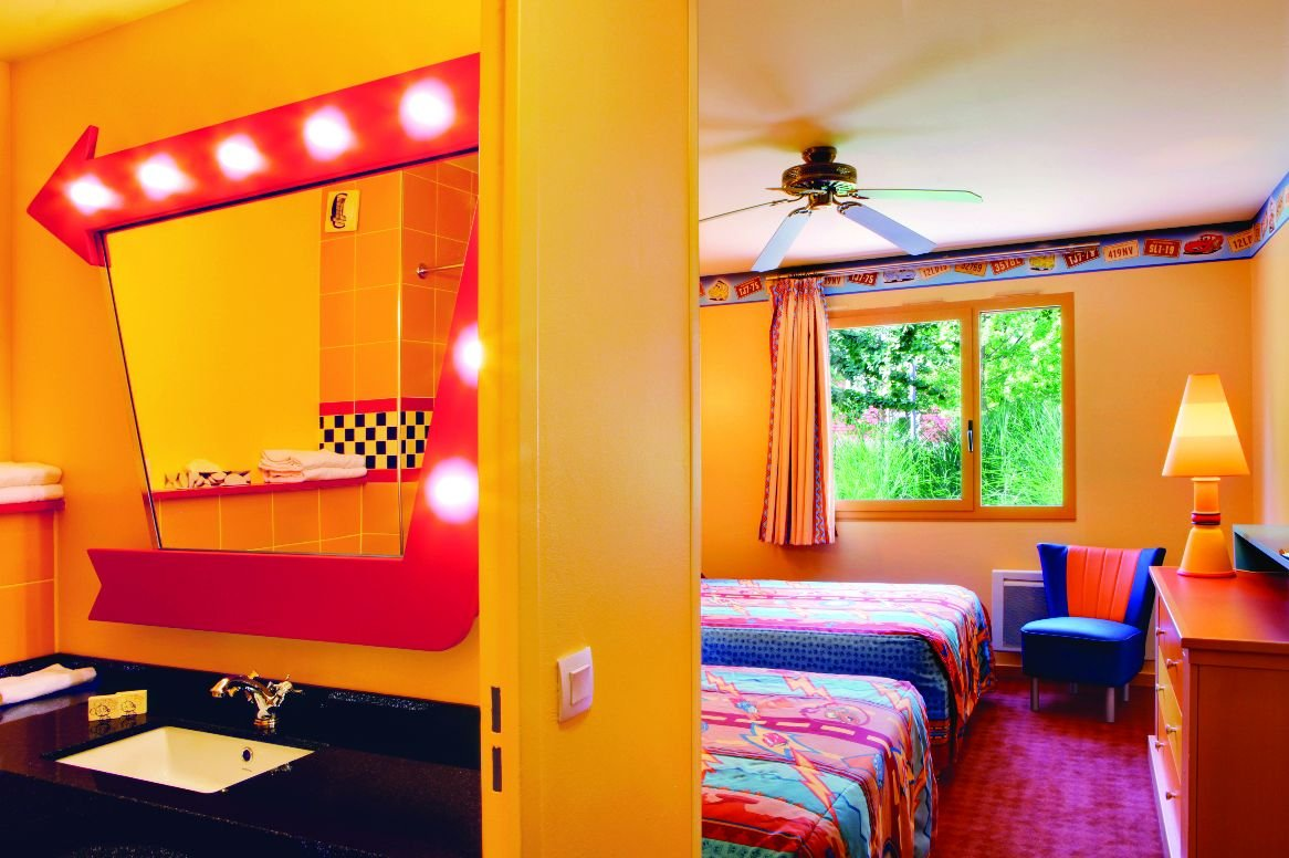 Disneyland Paris - Disney's Hotel Santa Fe - 4-persoonskamer