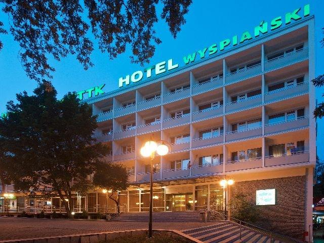 Krakau - Hotel Wyspianski *** - aanzicht