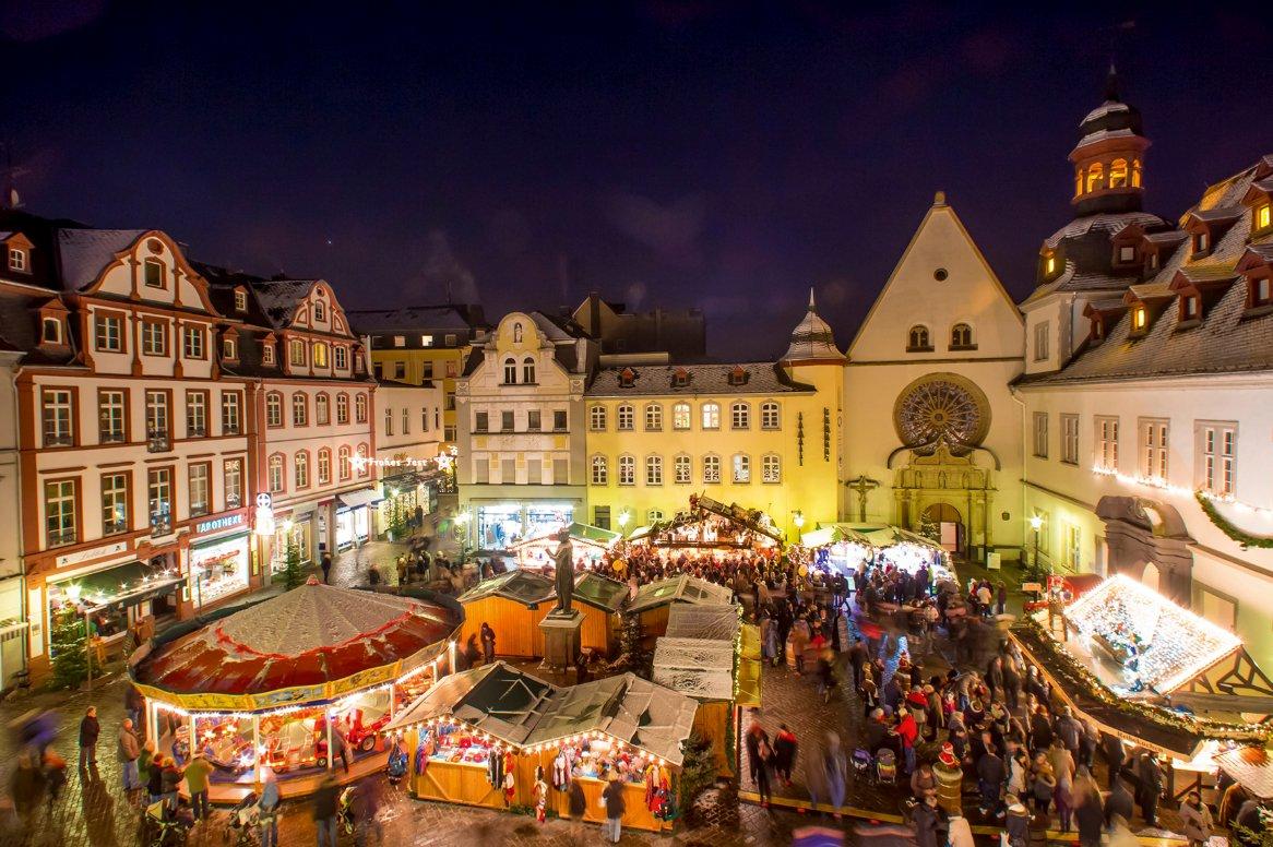 Kerstmarktcruise over de Rijn