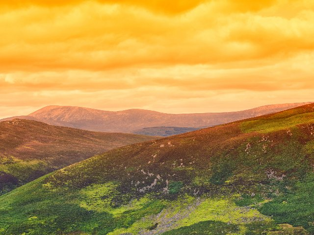 Ierland - Wicklow Mountains