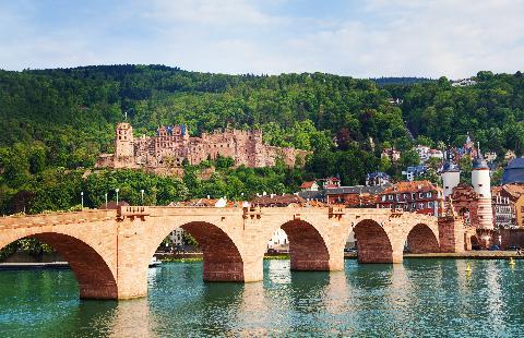 Duitsland, Fietsvakantie langs de Rijn en Neckar - Oad busreizen