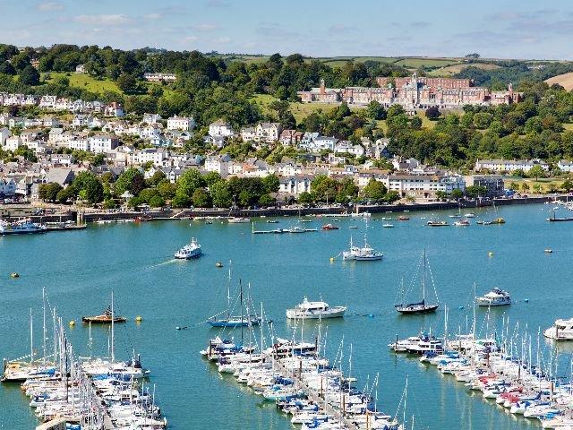 Engeland - Engelse Rivièra - Dartmouth - haven