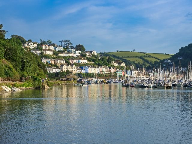 Engeland - Engelse Rivièra - Dartmouth - Kingswear haven