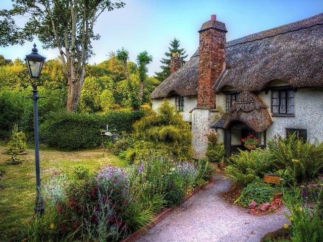 Engeland - Torquay - Cockington County Park