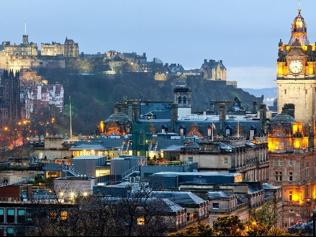 Schotland - Edinburgh -Edinburgh Castle