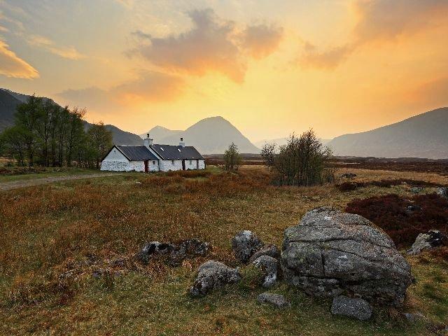 Groot - Brittanië - Schotland - Schotse Hooglanden omgeving Glencoe