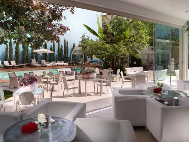 Montecatini Terme - Hotel Manzoni **** - terras