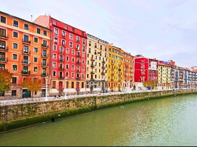 Spanje - Bilbao - straatbeeld