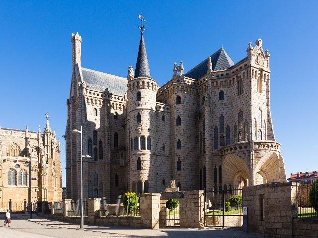 Spanje - Astorga - Bisschoppelijk Paleis