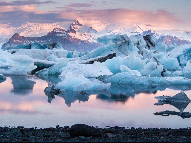 IJsland Jokursarlon Gletsjer