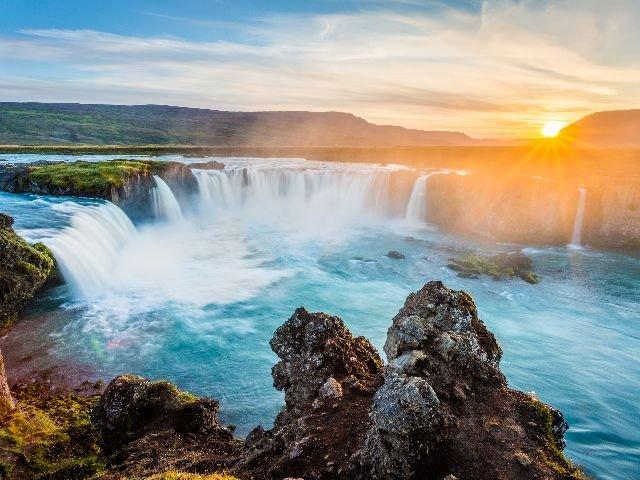 IJsland - Godafossen waterval