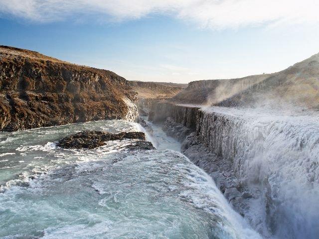 IJsland - Gullfossen waterval