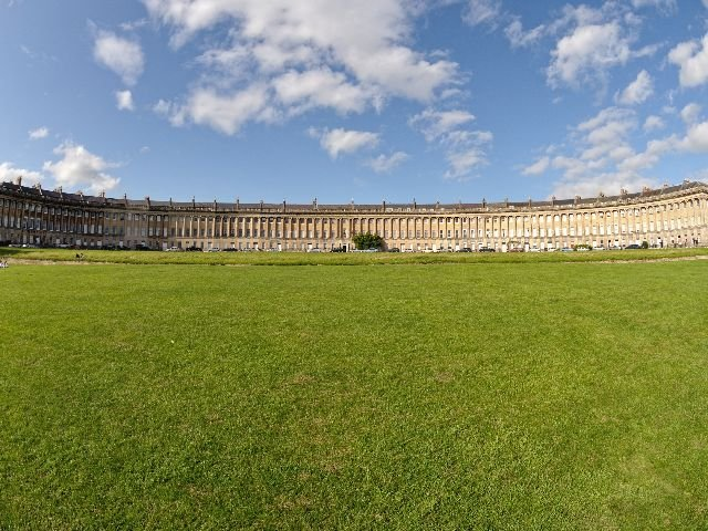 Groot Brittannië - Bath - Royal Crescent