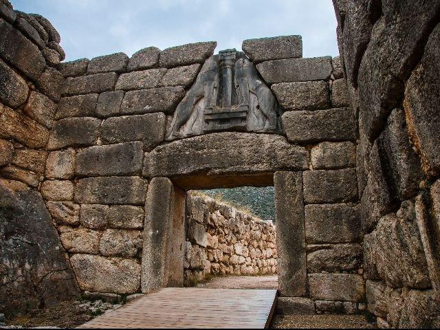 Griekenland - Mycene - Leeuwenpoort
