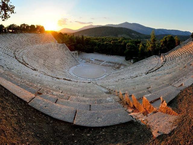 Griekenland - Epidaurus theater