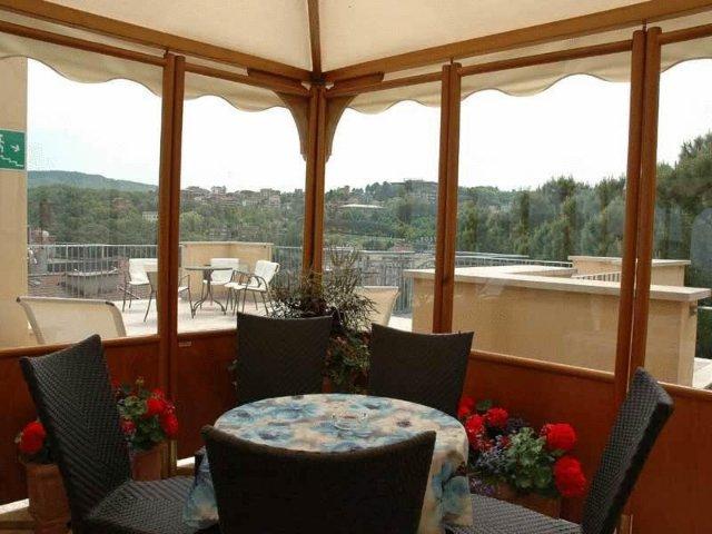 Chianciano Terme - Hotel Mizar **** - uitzicht