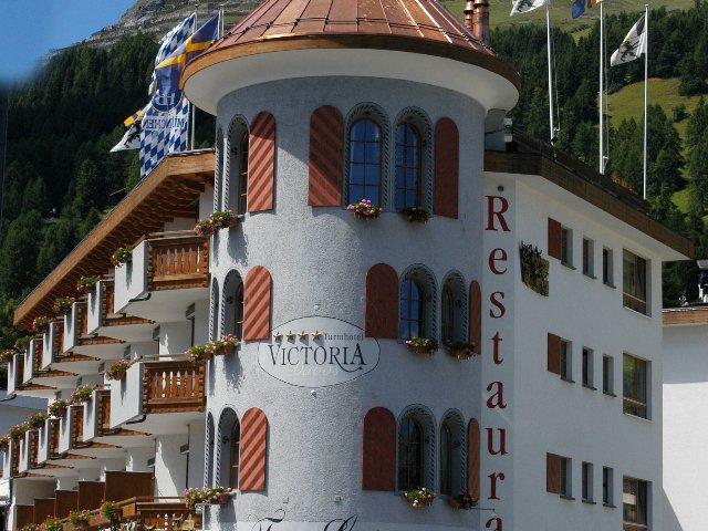 Davos - Turmhotel Victoria Davos **** - aanzicht