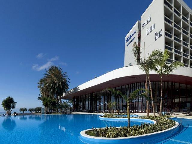 Funchal - Pestana Casino Park Hotel ***** - zwembad