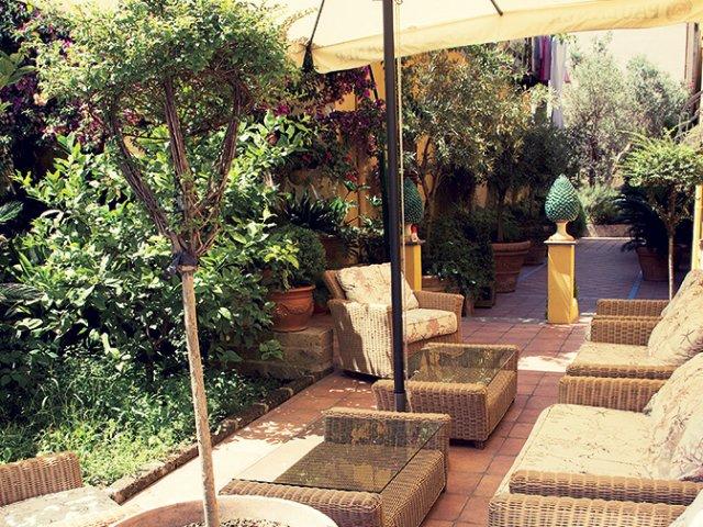 Castellamare di Stabia - Hotel Paradiso *** - tuin