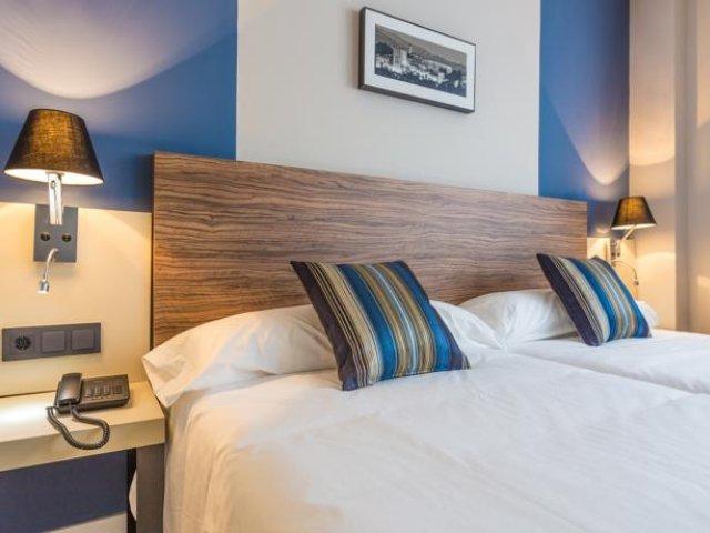 Spanje - Granada - Urban Dream Hotel - voorbeeldkamer