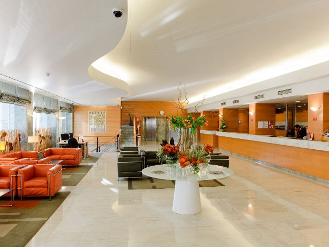 Portugal - Lissabon - Hotel Roma - receptie/ lounge