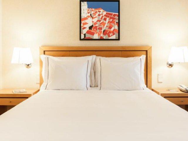 Portugal - Lissabon - Hotel Roma - voorbeeldkamer