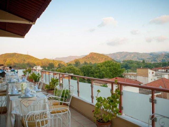 Griekenland - Olympia - Hotel Neda - terras