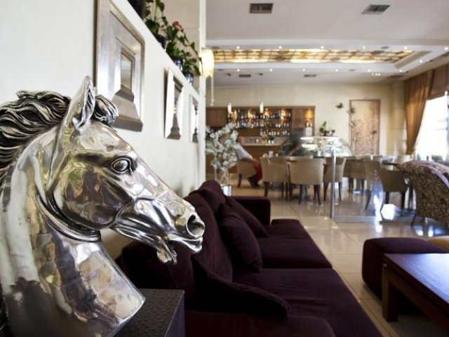 Griekenland - Athene - Hotel Crystal City - lounge