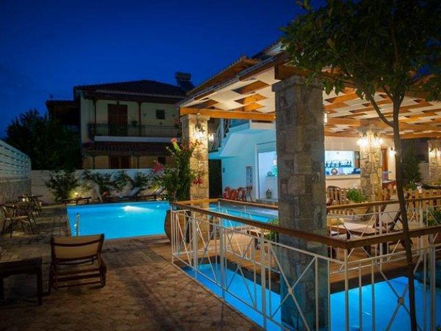 Griekenland - Olympia - Hotel Neda - zwembad