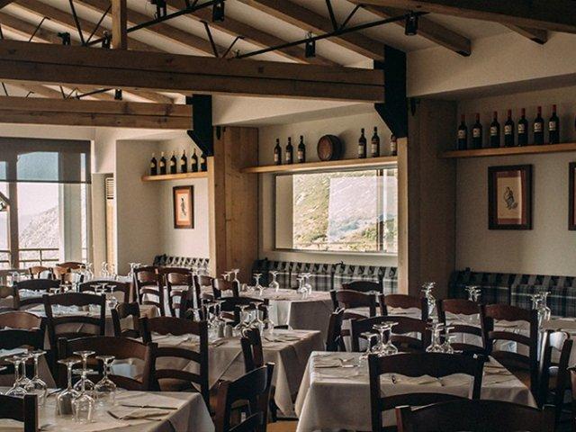 Griekenland - Arachova - Hotel Anemolia - restaurant