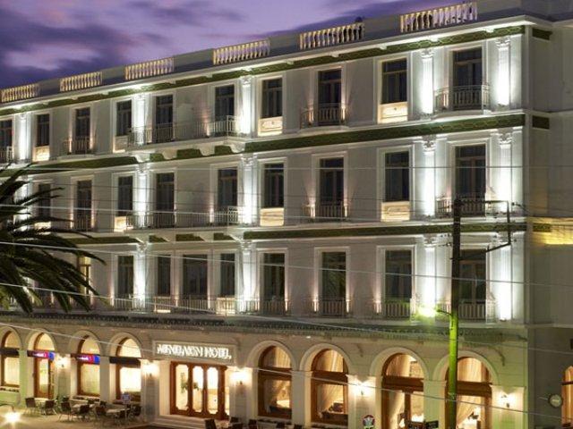 Griekenland - Sparti - Hotel Menelaion - aanzicht