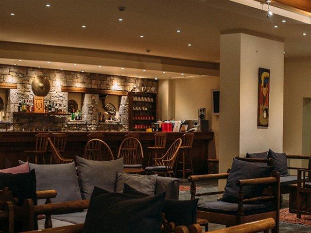 Griekenland - Arachova - Hotel Anemolia - bar