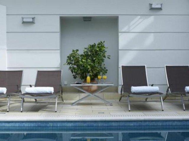Griekenland - Sparti - Hotel Menelaion - zwembad