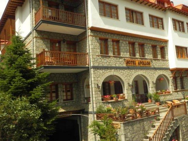 Griekenland - Metsovo - Hotel Apollon - aanzicht
