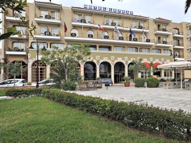 Griekenland - Lefkada - Hotel Lefkas - aanzicht