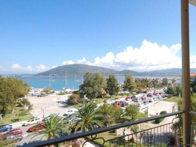 Griekenland - Lefkada - Hotel Lefkas - uitzicht