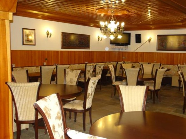 Griekenland - Metsovo - Hotel Apollon - restaurant