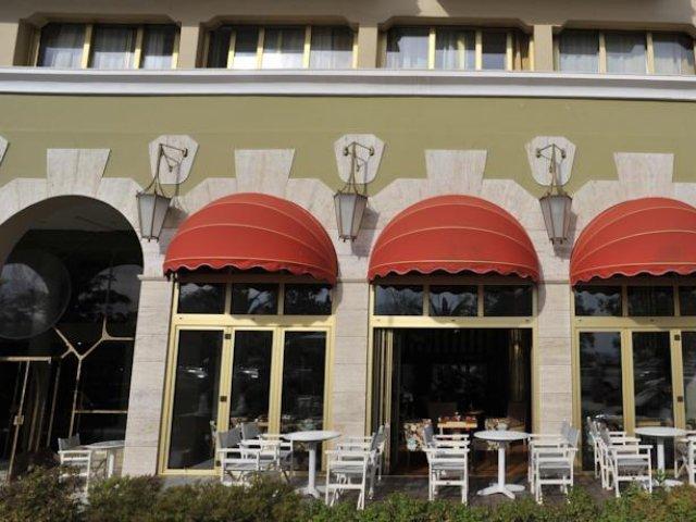 Griekenland - Lefkada - Hotel Lefkas - terras