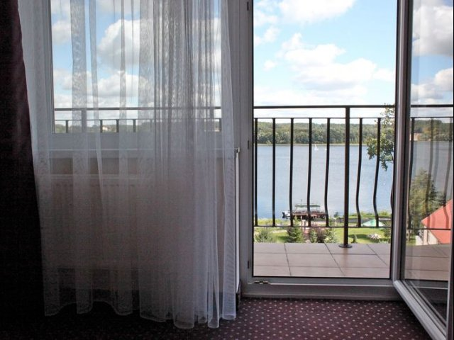 Mragowo - Hotel Huszcza *** - uitzicht
